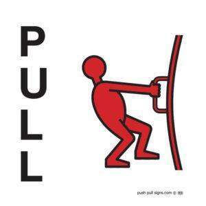 Push and Pull Signs